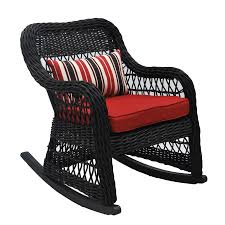 Allen + Roth Belsay Woven Steel Rocking Chair With Red Woven ... Charleston Acacia Outdoor Rocking Chair Soon To Be Discontinued Ringrocker K086rd Durable Red Childs Wooden Chairporch Rocker Indoor Or Suitable For 48 Years Old Beautiful Tall Patio Chairs Folding Foldable Fniture Antique Design Ideas With Personalized Kids Keepsake 3 In White And Blue Color Giantex Wood Porch 100 Natural Solid Deck Backyard Living Room Rattan Armchair With Cushions Adams Manufacturing Resin Big Easy Crp Products Generations Adirondack Liberty Garden St Martin Metal 1950s Vintage Childrens