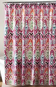 Amazon Lush Decor Jaipur Ikat Shower Curtain 72 X 72