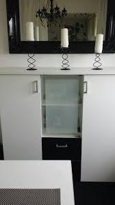 komplettes modernes esszimmer schwarz weiß