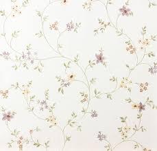 tapete pastel a s 93770 1 blumenranke violett grün weiß