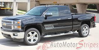 100 How To Lower A Truck 20142018 Chevy Silverado Shadow Door Vinyl