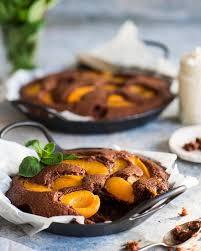 schoko kokos löffelkuchen mit weißer schokolade marillen pfirsichen rezept fini s feinstes