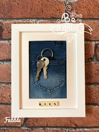 Decorative Key Holder For Wall by Key Holder Frame Key Hanger Wall Decor Wall Key Holder