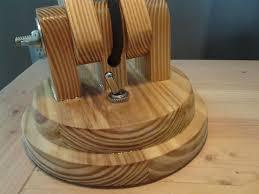Pallet Wood Desk Lamp by RadioActiveRich LumberJocks