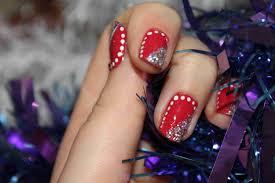 deco ongle gel noel tuto idée décoration d ongle pour noel