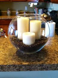 Candles And Coffee Beans Display