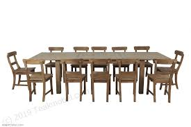 teakholz tisch ausziehbar 200 250 300x100