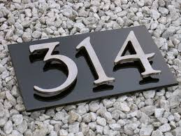 Metal Painted Background With Stainless Numbers On Standoffs. Cut ... Krazatchu Design Systems Home 2016 License Plates Cool Name For Desk Decor Office Door Decorative House Number Signs Plaques Iron Blog Dubious Choosing A Perfect House Home Street Number 46 A Name Plate Design On Brick Wall In Best Behavior Creative Clubbest Club Address Stone Home Numbers Slate Plaque Marker Sign Rectangle Double Paste White Text Effect Modern Address Tiles Ceramic Choice Image Tile Flooring Ideas The 25 Best Plates For Sale Ideas Pinterest Normal Awesome Plate Images Decorating