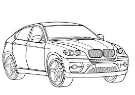 BMW Cars Coloring Pages Transport