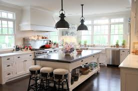 rubbed bronze pendants transitional kitchen angie gren