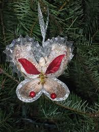 Seashell Christmas Tree Ornaments by What U0027s New Sea Shell Christmas Tree