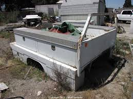 100 Truck Utility Boxes West Auctions Auction Trailer And Construction Equipment ITEM