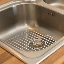 Sink Protector Home Depot by Home Basics 12 37 In X 10 37 In X 87 In Chrome Sink Protector