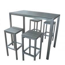 table de cuisine haute avec tabouret gracieux table haute avec tabouret mobilier maison et 1 chaise