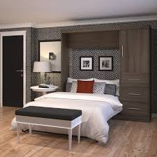 Queen Murphy Bed Kit by Roomandloft Empire Murphy Bed With Optional Piers Queen Hayneedle