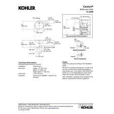 kohler k 2209 0 caxton white undermount single bowl bathroom