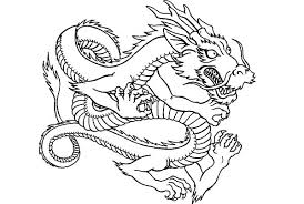Chinese Dragon Coloring Pages To Print 2014250