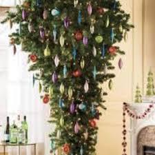 5 Prelit Upside Down Christmas Tree