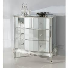 Hayworth Mirrored Dresser Antique White by Hayworth Mirrored Chest Living Spaces Pictures With Marvellous