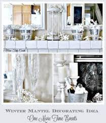 Winter Mantel Decorating Ideas Non Christmas