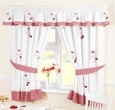 Sears Kitchen Window Curtains by Overstock Kitchen Curtains Red And Black Window Valance Sears