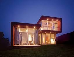maison en cube moderne idée maison en kit moderne