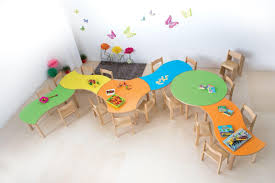 Modular Table For Children, Rounded Edges And Corners ...