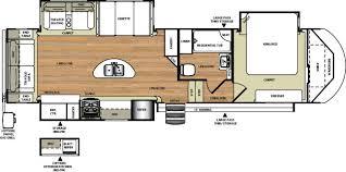 Wildwood Fifth Wheel Floor Plans Colors Rv Wholesale Superstore 7417fw New 2018 Wildwood Heritage Glen