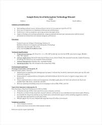 Sample Resume Summary Statements Statement Example Examples For