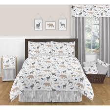 Sweet Jojo Chevron Curtains by Bed U0026 Bedding Sweet Jojo Designs Woodland Animals Bedding For