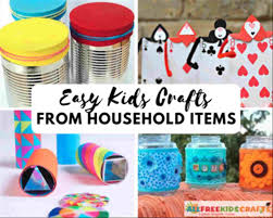 To Do At Home With Household Items Crafts Craft