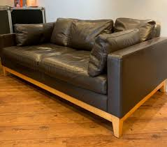 100 Designers Sofas X2 Brown Real Leather 3 Seaters Guild In Woodbridge Suffolk Gumtree