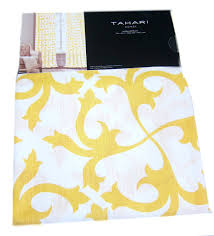 Tommy Hilfiger Curtains Special Chevron by Tahari Home Scrolls Window Panels 52 By 96 Inch Set Of 2 Floral