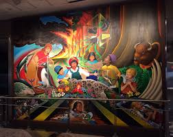 Denver Airport Murals Conspiracy Theory by Is Going On At The Denver Airport Mags On The Move