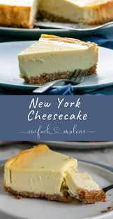 original new york cheesecake cremig und abgöttisch lecker