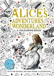 The Macmillan Alice Colouring Book