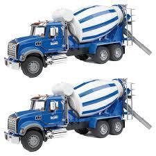100 Bruder Cement Truck Toys Construction MACK Granite Mixer With Barrel