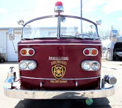 100 Fire Truck Bell American LaFrance Fire Truck 1959 Complete All Original Runs Great