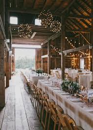 Rustic Barn Wedding Light Decor Ideas Chic Venue
