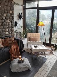steinwand in wohnzimmer oder küche ideen bei