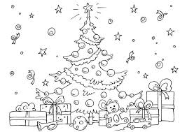 The Christmas Tree Coloring Pages Are Perfect For Getting Into Spirit As They Feature