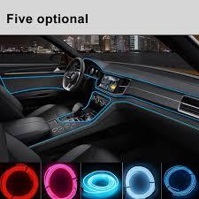 100 Led Interior Lights For Trucks New Model EL Car Cold Light Line Car Car LED