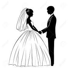 Couple Clipart Wedding Dress 10