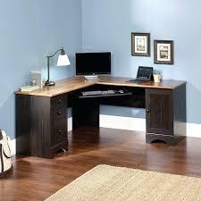 posh staples l shaped desk ideas small modern at two pedestal