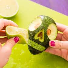 Preserve Carved Pumpkin Lemon Juice by Avocado Sugar Skulls Are This Year U0027s Best Halloween Trend Brit Co
