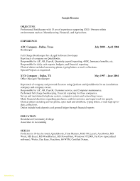 Bookkeeping Resume Sample New Bookkeeper Examples Accurated And Of