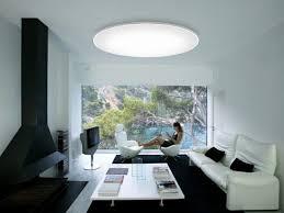 led deckenleuchten rund metall gewoelbt wohnzimmer weiss