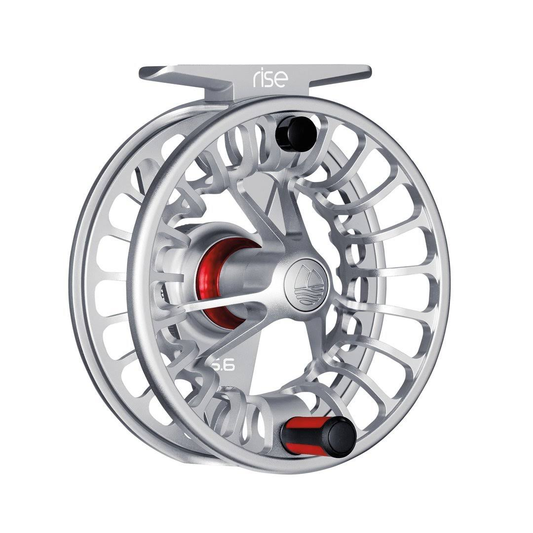 Redington Rise Fly Fishing Reel - Silver, 7/8""