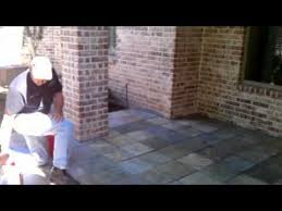 how to seal your exterior tile or concrete walkways