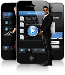 Scan and Protect iPhone App Take document snapshots and encrypt